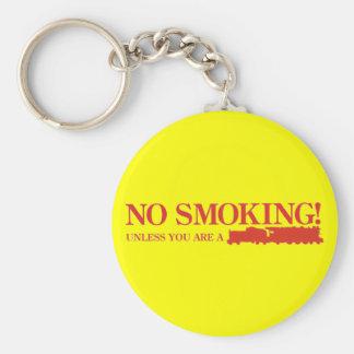 Porte-clés Non-fumeurs ! À moins que vous soyez une machine à