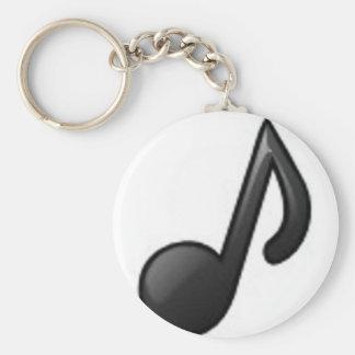 Porte-clés Note musicale