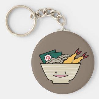 Porte-clés Nouilles de Japonais de crevette de nori de bol de