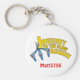 Porte-clés Nouveau voyage au porte - clé de titre de griffe