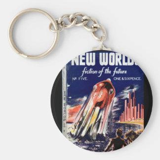 Porte-clés Nouvel art de _Pulp des mondes 005 (1949.Nova)