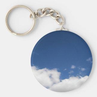 Porte-clés Nuages et ciel bleu