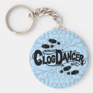 Porte-clés Obstruer vintage de danseur d'entrave