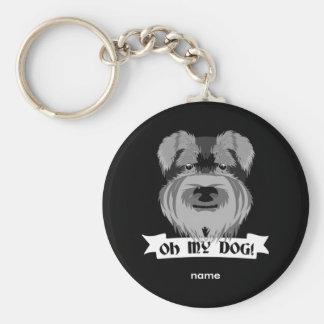 Porte-clés Oh mon chien Terrier