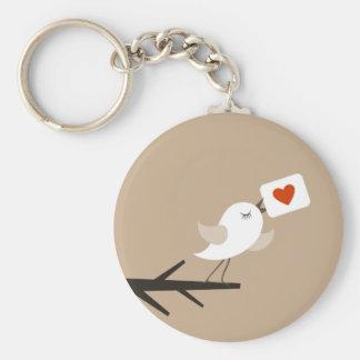 Porte-clés Oiseau de love5