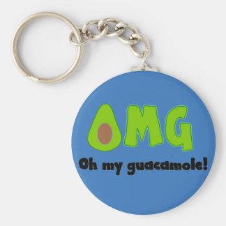 Porte-clés OMG oh mon guacamole - porte - clé drôle