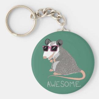 Porte-clés Opossum impressionnant drôle