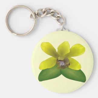 Porte-clés Orchidée de Dendrobium