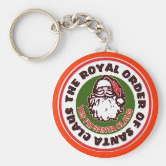 Porte-clés Ordre royal du père noël