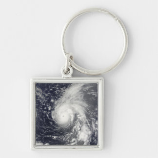 Porte-clés Ouragan Vamco dans l'océan pacifique