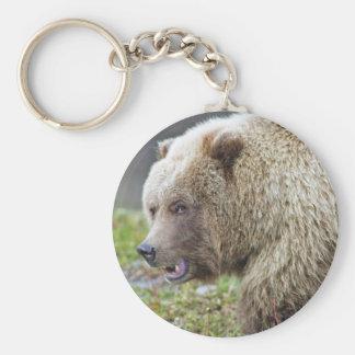 Porte-clés Ours de Brown d'Alaska