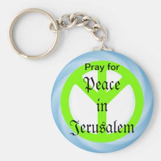Porte-clés Paix dans le porte - clé de Jérusalem