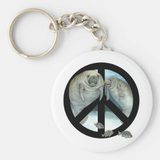 Porte-clés paix de lamantin
