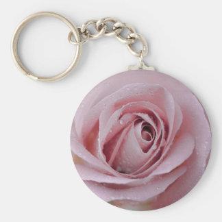 Porte-clés pâlissez - le rose de rose