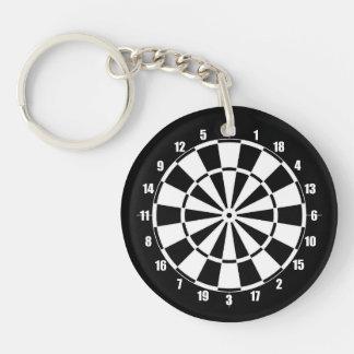 Porte-clés Panneau de dard