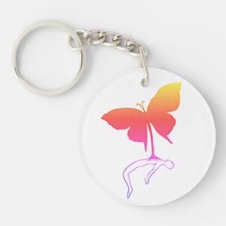 Porte-clés Papillon