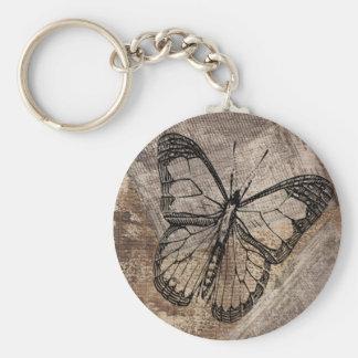 Porte-clés Papillon vintage