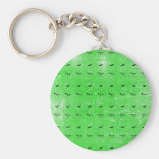 Porte-clés Papillons verts
