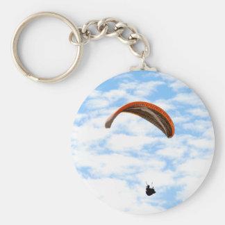 Porte-clés Parapentisme dans les nuages - porte - clé