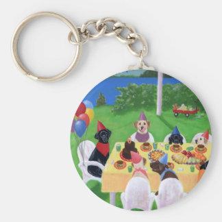Porte-clés Partie de Labrador