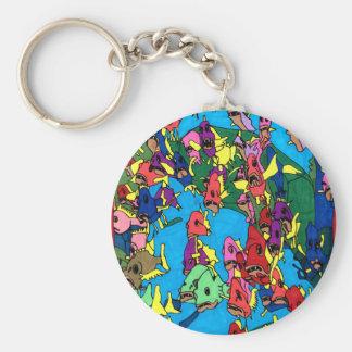 Porte-clés Partie de Pirranha
