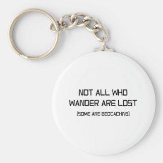 Porte-clés Pas tout ce que Wander sont perdu (certains est