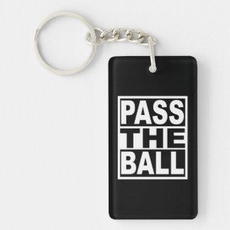 Porte-clés Passez la boule