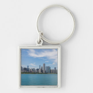 Porte-clés Paysage urbain de jour de Chicago