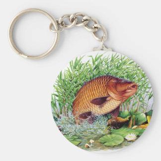 Porte-clés Pêche de carpe