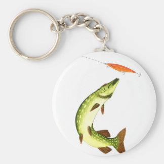 Porte-clés Pêche de Pike