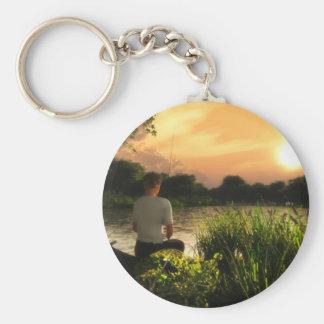 Porte-clés Pêche du seul porte - clé