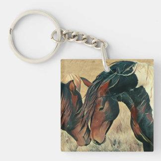 Porte-clés Peignez les poneys