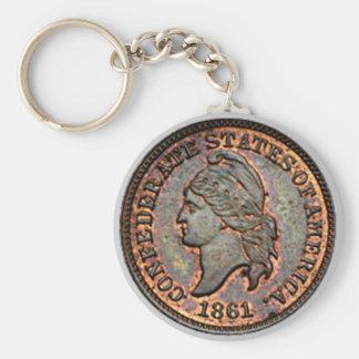Porte-clés Penny des 1861 Etats-Unis de guerre civile