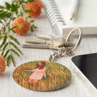Porte-clés Pensée paisible