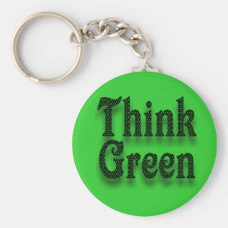 Porte-clés Pensez le Vert-Porte - clé