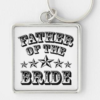 Porte-clés Père à la mode du porte - clé de jeune mariée