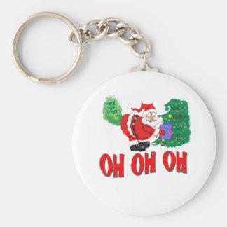Porte-clés père Noël a pété