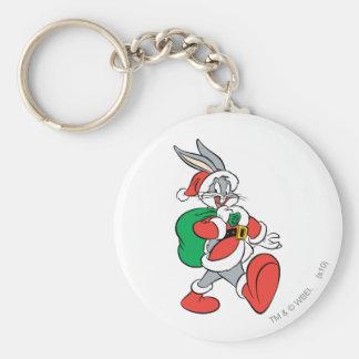 Porte-clés ™ Père Noël de BUGS BUNNY