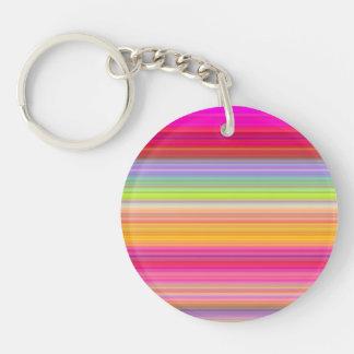 Porte-clés Personnalisez - l'arrière - plan multicolore de