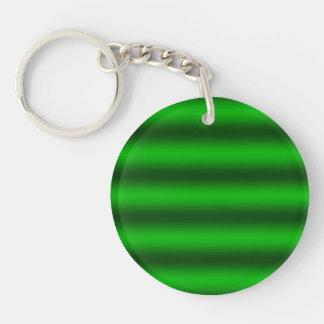 Porte-clés Personnalisez - l'arrière - plan vert de gradient