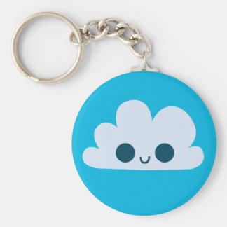 Porte-clés Petit nuage heureux mignon
