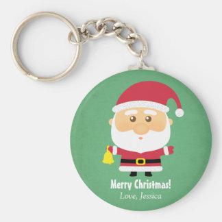 Porte-clés Petit porte - clé mignon de Noël du père noël de
