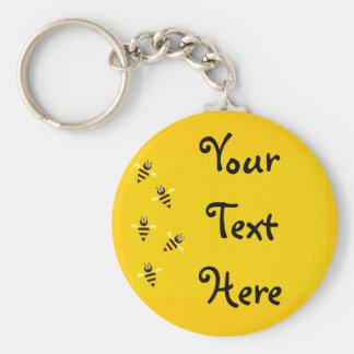 Porte-clés Petites abeilles