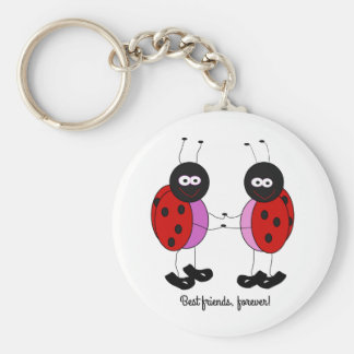 Porte-clés Petites coccinelles de meilleurs amis