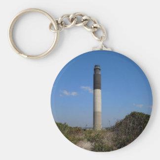 Porte-clés Phare d'île de chêne, la Caroline du Nord