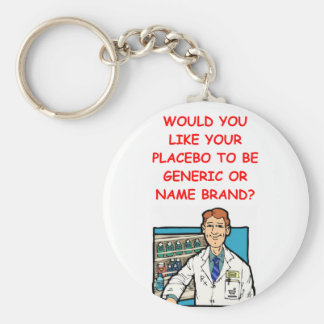 Porte-clés pharmacien