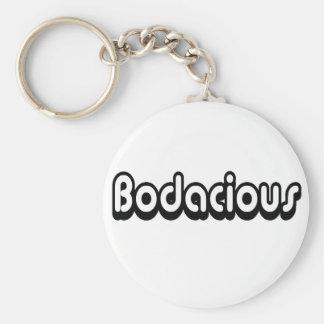 Porte-clés phase de crochet des années 80 bodacious sur un