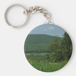Porte-clés Photographie d'été de la Pennsylvanie de montagnes