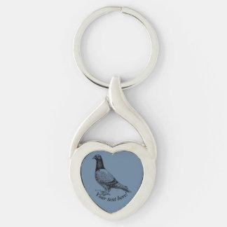Porte-clés Pigeon