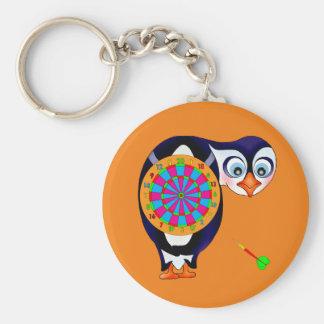 Porte-clés Pingouin de dard par Happy Juul Company